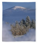 Mount Spokane Fleece Blanket