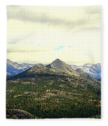 Mount Starr King Fleece Blanket