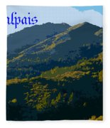 Mount Tamalpais 2013 Fleece Blanket