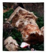 Mount Trashmore - Series Xi Fleece Blanket
