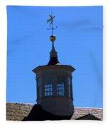 Mount Vernon Cupola Fleece Blanket