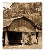 Mountain Barn 1 Fleece Blanket