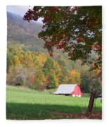 Mountain Barn Fleece Blanket