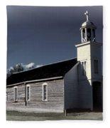 Mountain Church Fleece Blanket