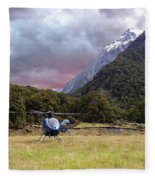 Mountain Flight Fleece Blanket