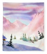 Mountain Glow Fleece Blanket