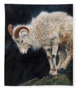 Mountain Goat Fleece Blanket