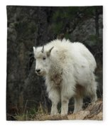 Mountain Goat Kid Fleece Blanket