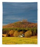 Mountain In North Carolina Fleece Blanket