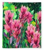 Mountain Meadows' Paintbrush Fleece Blanket