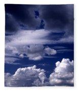 Mountain Of Clouds Fleece Blanket