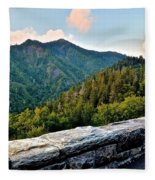 Mountain Overlook Fleece Blanket
