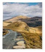 Mountain Path Fleece Blanket