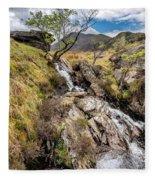 Mountain River Fleece Blanket
