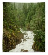 Mountain River Fleece Blanket