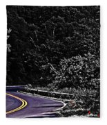 Mountain Road Fleece Blanket