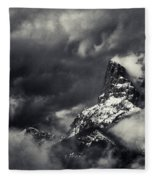 Mountain Storm Banff Fleece Blanket