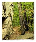 Mountain Trail Fleece Blanket