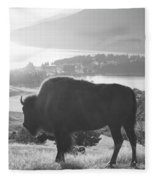 Mountain Wildlife Fleece Blanket