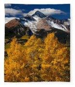 Mountainous Wonders Fleece Blanket