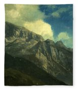 Mountains Fleece Blanket