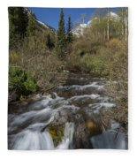 Mountains Co Maroon Creek 1 Fleece Blanket