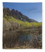 Mountains Co Sievers 3 Fleece Blanket