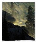 Mountains Dreams Fleece Blanket