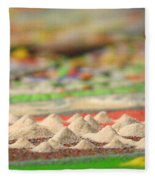 Mountains Of The Mind Fleece Blanket