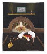 Mouse House Fleece Blanket