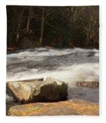 Moving Waters Fleece Blanket