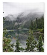 Mowich Lake Fleece Blanket