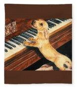 Mozart's Apprentice Fleece Blanket