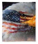 Mr. American Eagle Fleece Blanket