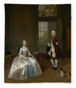 Mr And Mrs Atherton Fleece Blanket
