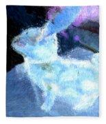 Mr. Blue Bunny Fleece Blanket