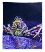 Mr Crab Fleece Blanket