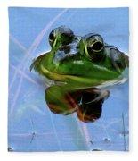 Mr. Frog Fleece Blanket