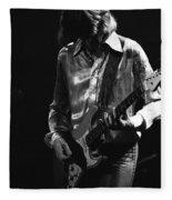 Mick In 1977 Fleece Blanket