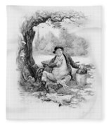 Mr Pickwick, From Charles Dickens A Fleece Blanket