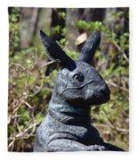 Mr Rabbit 2 Fleece Blanket