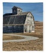 Mrs. Green's Barn Fleece Blanket