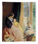 Mrs Hicks Mary Rosa And Elgar Fleece Blanket