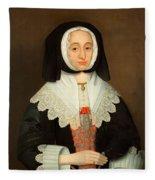 Mrs Lucy Hutchinson, C.1643 Fleece Blanket