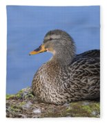 Mrs. Mallard Fleece Blanket
