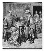 Mrs. Murray And Lord Howe Fleece Blanket