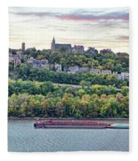 Mt Adams Cincinnati 9919 Fleece Blanket