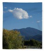 Mt Ashland In Late Summer Fleece Blanket
