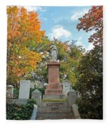 Mt Auburn Cemetery 1 Fleece Blanket