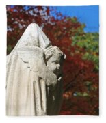 Mt Auburn Cemetery 8 Fleece Blanket